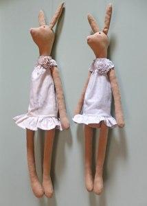 2 påskeharer