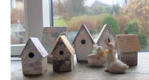 Små fuglehuse