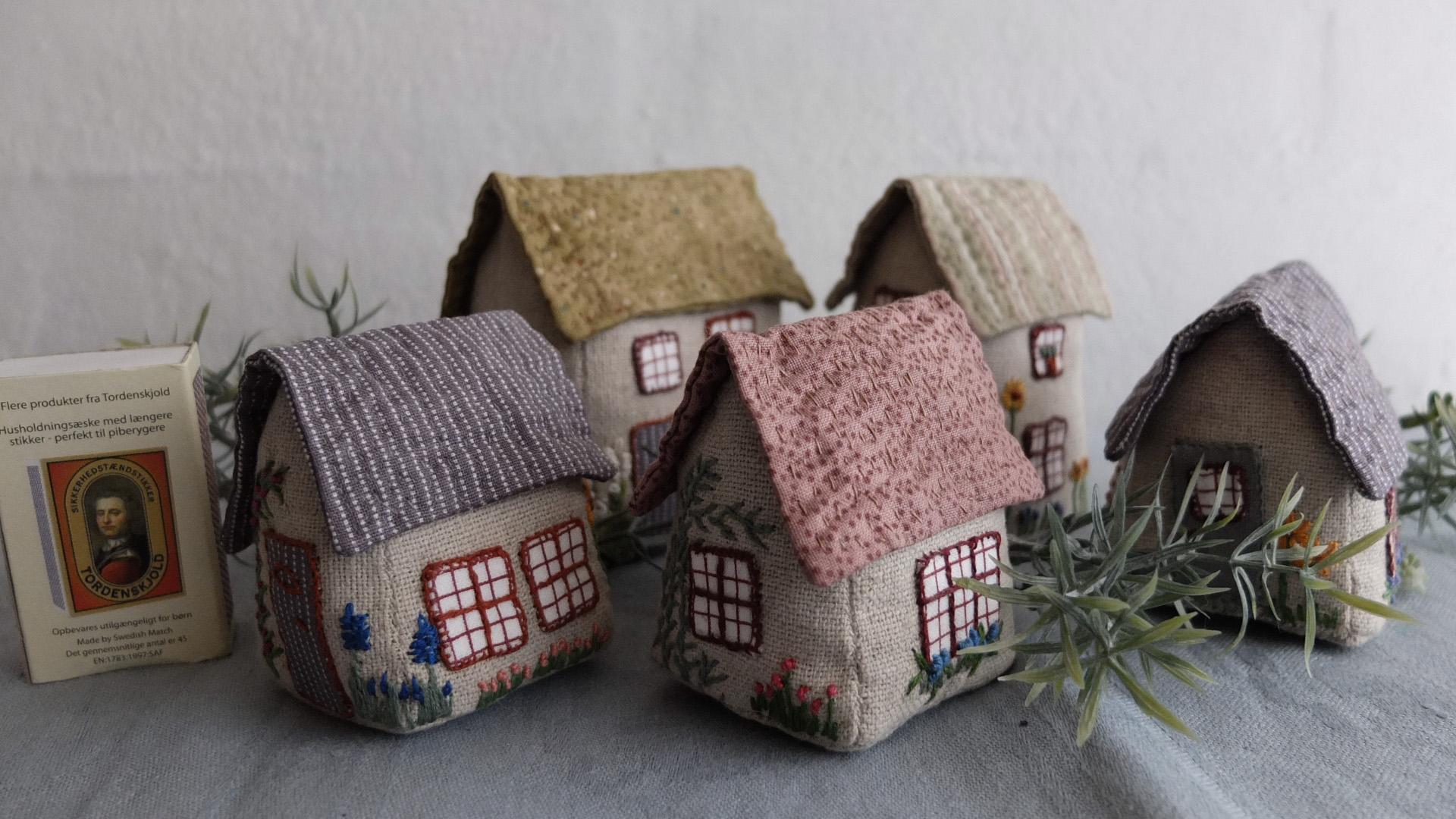 små huse til pynt